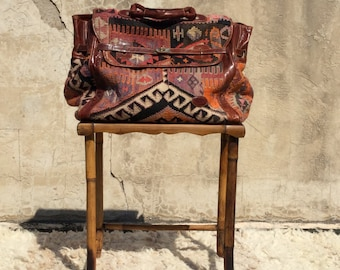 Kilim Duffle Bag, Large