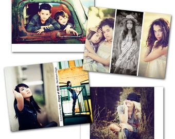 Wallet Wood Photo Box Template Set by Photographer Cafe