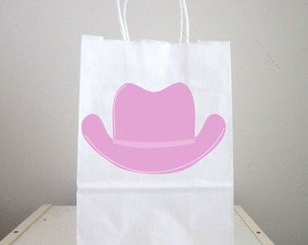 Cowgirl Goody Bags, Cowgirl Favor Bags, Cowgirl Goodie Bags, Cowgirl Party Bags