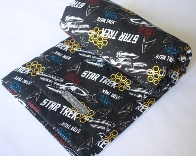 Star Trek Baby Blanket-Enterprise Commands and Ranks