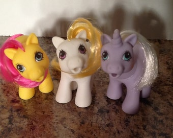 G1 My Little Pony: Drink and Wet Baby Ponies