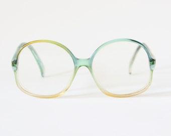 Vintage actuell Germany eyeglasses frame glasses eyewear oversize specs