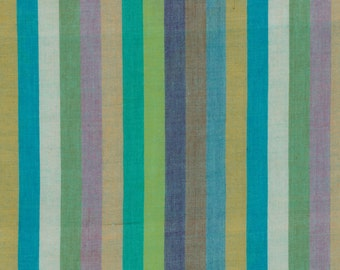 NARROW STRIPE  SPRING Woven narrow.spring  by  Kaffe Fassett fabric sold in 1/2 yard increments