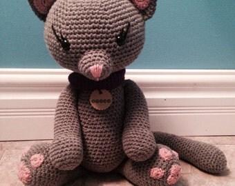 Crochet Kitty Doll Handmade