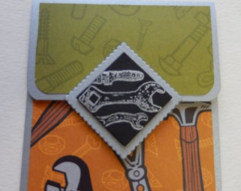 Mr. Fix-It Giftcard Holder