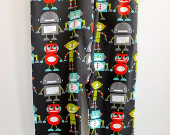 Baby and Toddler Leggings- Robots/Robot Pants/Robot Leggings