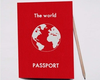 "Travel book ""Passport"""