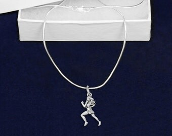 Wholesale Female Runner Necklaces (18 Necklaces) (N-04-RUN)