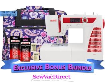 Janome DC2015 Computerized Sewing Machine Includes Free Bonus Accessories