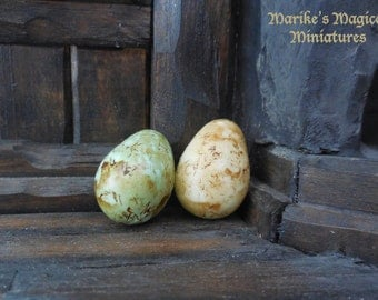 Dragon's egg - blue or glow-in-the-dark - scale 1/12 or 1/24