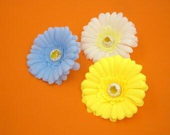 2 Pcs Flower Magnets,Wedding Favors,Daisy Fridge Magnet,Refrigerator Magnet,Bridal Baby Shower,Housewarming,Hostess Gift,Blue,White,Yellow