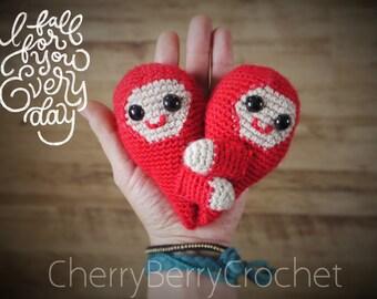 Valentines hug PDF Crochet Pattern