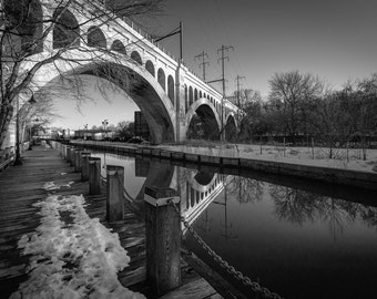 Reflections in the Manayunk Canal