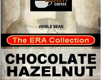 Whole bean Chocolate Hazelnut Flavored Coffee from the Era Collection, 12oz