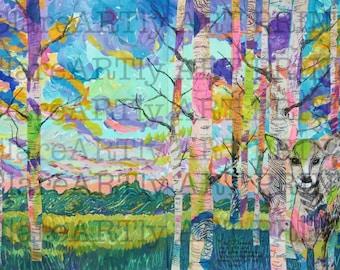 Art Journal Print