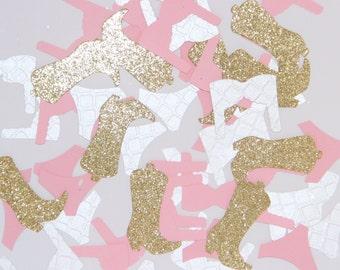 Bachelorette party confetti, bridal shower confetti, bra & panty confetti, cowboy boot confetti, bachelorette confetti
