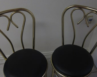 Thonet chairs - Cafe chairs - partial tag - pair - 55.00