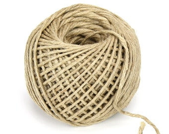 4mm x 100Y Natural Jute Rope Coated (JRR05)