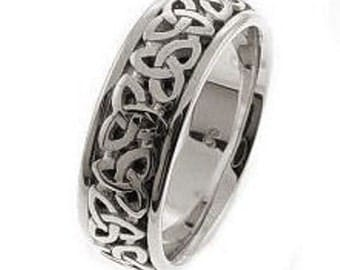 Celtic Trinity Knot Wedding Band