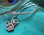 """Helping Paws Pet Haven, Inc. will receive 30% of sales from D. Kirkup Designs Sterling Silver """"Infinity Pet Bracelet"""""""