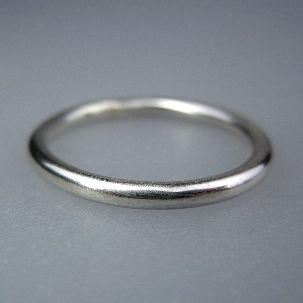 sterling silver wedding ring plain sterling silver wedding