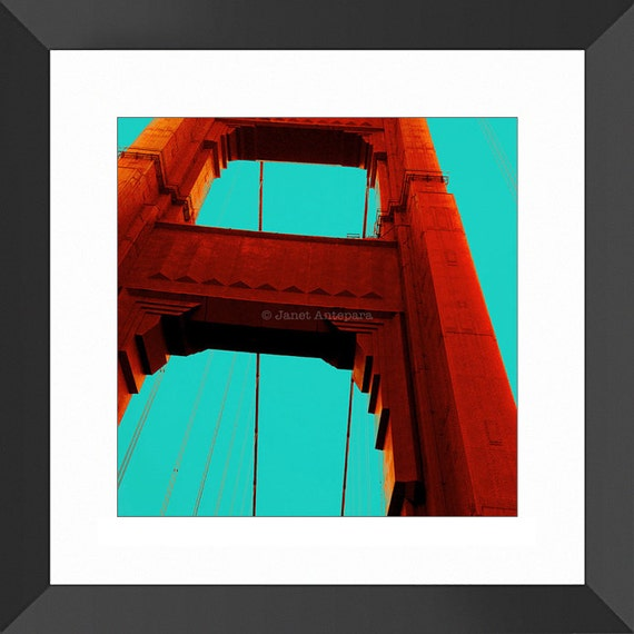 Golden Gate 8x8 10x10 And 12x12 Photo Print California