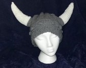 Knit Viking Hat