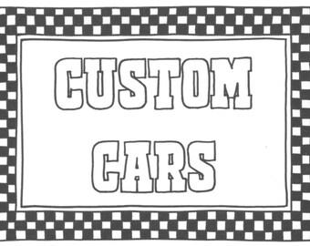 Custom Cars with Sharniebet