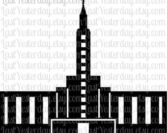 LDS Los Angeles California Temple DIGITAL DOWNLOAD svg dxf jpg png