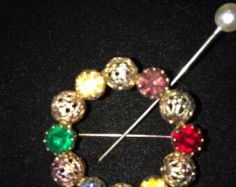 Circle of Life vintage pin