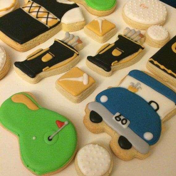 Golfing Cookies
