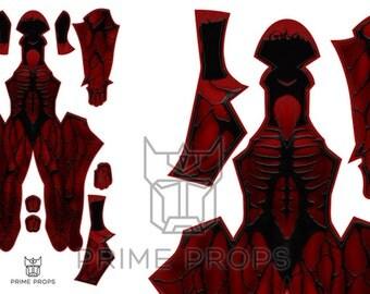 Spiderman Carnage costume Pattern