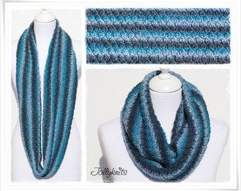 Knitting Pattern Cowl Laguna