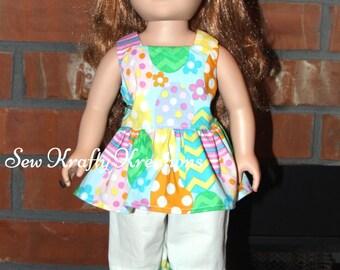 """Easter inspired Set for 18"""" doll like American Girl"""