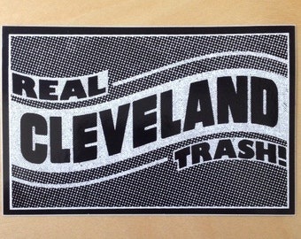 Real Cleveland Trash sticker