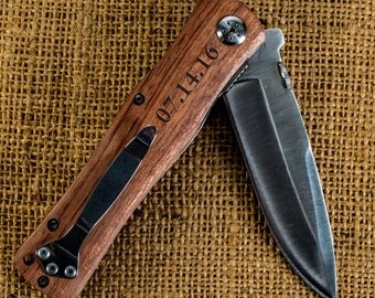 Engraved Pocket Knife Groomsmen Knife Gifts Personalized Knife Groomsmen Pocket Knife Engraved Knife For Groomsmen Anniversary Gifts For Him