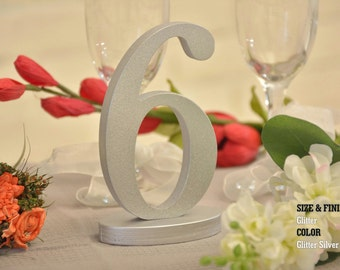 Gold Wedding Table Numbers, Gold Table Number for Weddings,Table Number, Wedding Table Decor, Wedding Reception Table, 10 table numbers