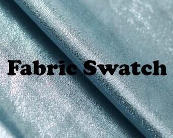 Foil Fabric Matrix (Small Dot Foil) Light Royal Blue Spandex Fabric Item# RXPN-LTBLMTX-SWATCH -Fabric Swatch