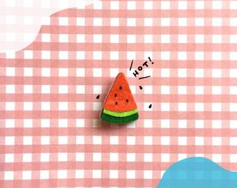 Brooch - Mini Watermelon