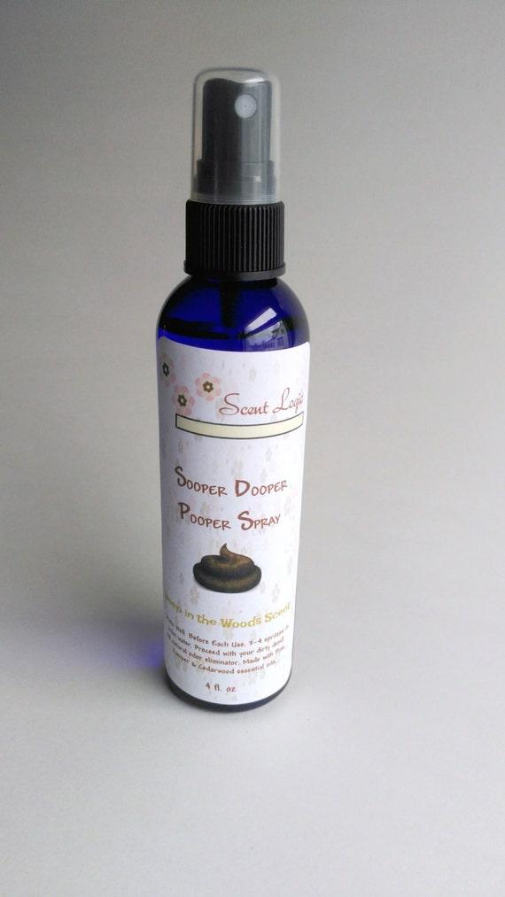 Sooper Dooper Pooper Spray 4 Oz Essential Oil Poop By Scentlogic