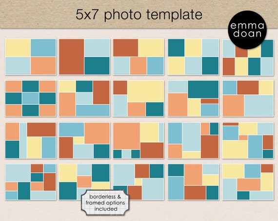 5x7 photo card template 5x7 storyboard template photobook. Black Bedroom Furniture Sets. Home Design Ideas