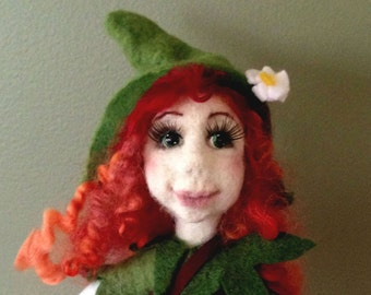 Felted Doll - Ronia the Robber's Daughter
