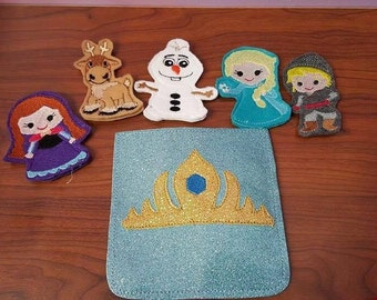Frozen Finger Puppet Set