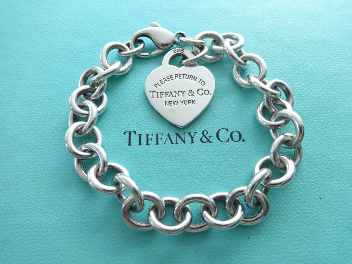 Tiffany And Co Silver Link Bracelet