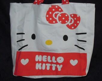 Sanrio Hello Kitty 2014' canvas Carrying Bag