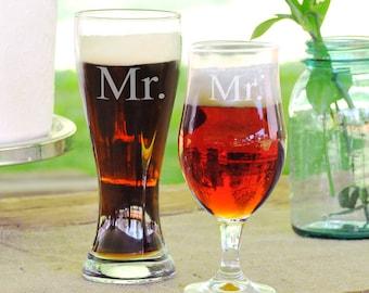 Mr. & Mr. Pilsner Set