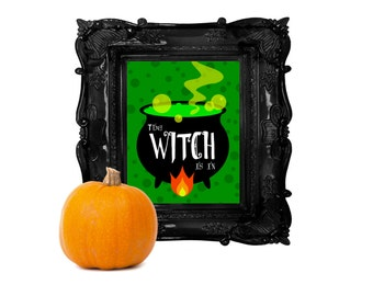 The Witch is In | Instant Download