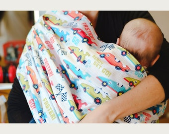 Sling | pouch | baby boy | newborn