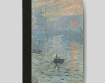 iPad Folio Case, iPad Air Case, iPad Air 2 Case, iPad 1 Case, iPad 2 Case, iPad 3 Case, iPad Mini - Impression, Sunrise by Claude Monet