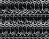 Black and White 2  by Cotton and Steel House Designer - Fat Quarter- Hoos There in Black